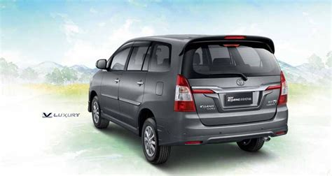 New Innova Size Xl 2014 toyota innova 3 quarter rear gray mica metallic