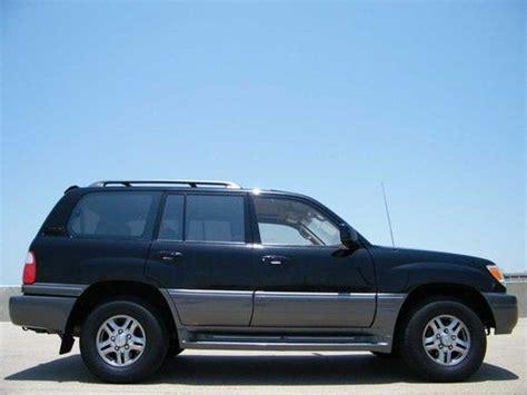 buy used no reserve 2001 lexus lx470 luxury suv 4x4 3rd