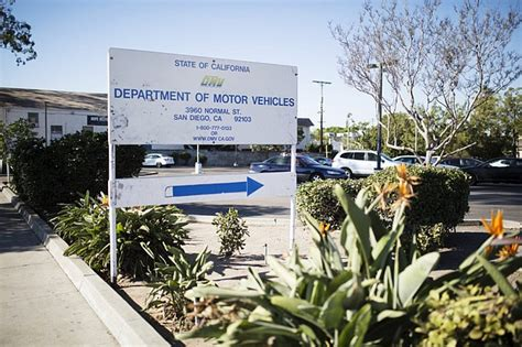 department of motor vehicles in san diego here are the san diego dmv offices affected by the