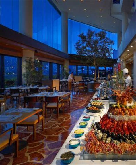 intercontinental hong kong harbourside seafood dinner