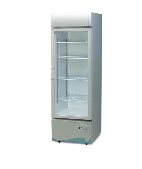 glass door fridge 330l single glass door fridge