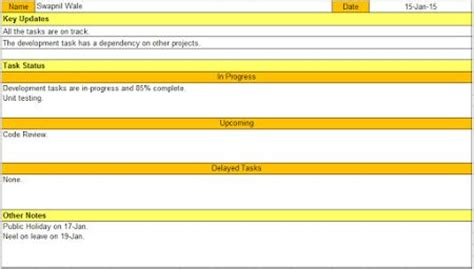 status update template word 78 images about project status report template on