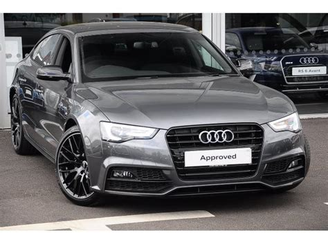 Audi A5 Black Edition by The Gallery For Gt Audi A5 Black Edition