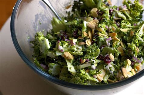 smitten kitchen brocolli slaw with buttermilk ranch