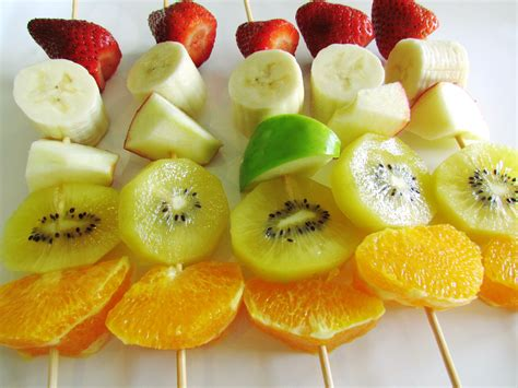 fruit kebabs fruit kebabs