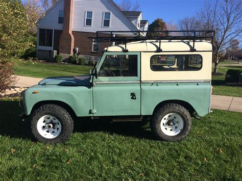 land rover defender diesel 1982 land rover series 3 model 88 diesel pre defender
