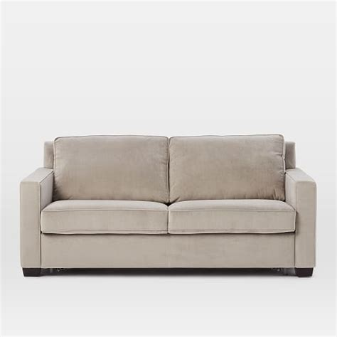 pull down sleeper sofa henry 174 pull down sleeper sofa dove gray performance
