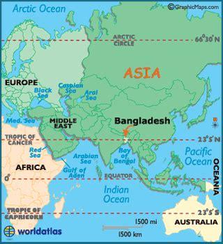 bangladesh map / geography of bangladesh / map of