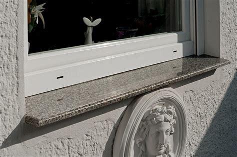 fensterbank außen stein einbauen fensterbank au 223 en granit harzite
