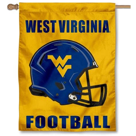 helmet house west virginia university helmet house flag your west virginia university helmet house