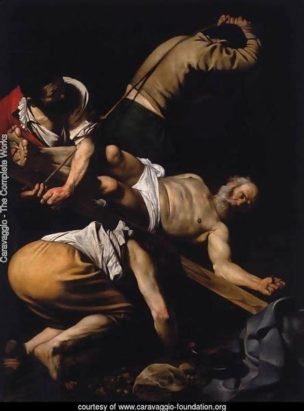 caravaggio the complete works 3836562863 caravaggio the complete works the crucifixion of st peter 1600 01 caravaggio foundation org