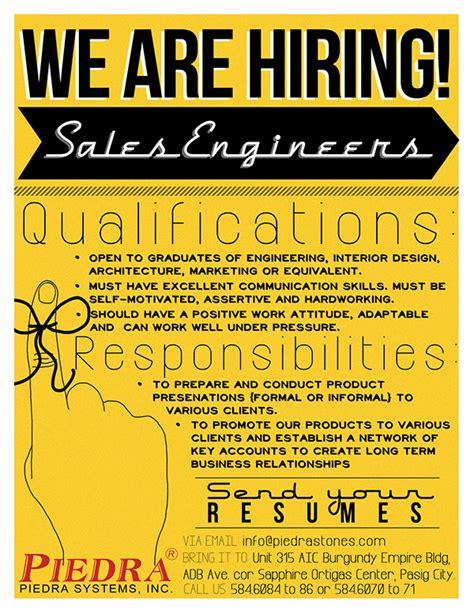 design poster jobs job vacancy announcement on behance