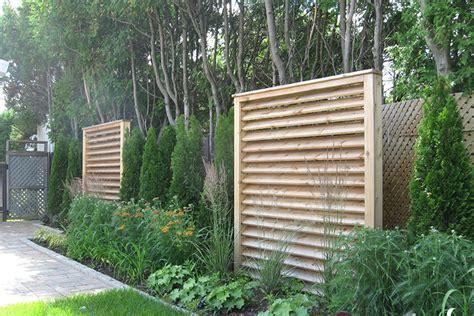 modern backyard fence triyae com modern outdoor fences various design
