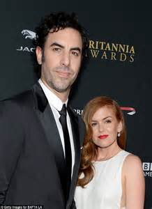 Baby Borat Confirmed isla fisher and sacha baron cohen welcome third child
