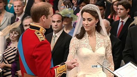 Royal Wedding William Kate Exchange Vows by Prince William And Kate Middleton Exchange Vows