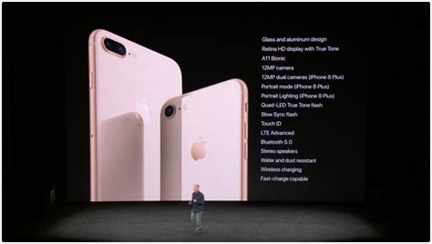 apple introduces iphone 8 iphone 8 plus and iphone x tidbits