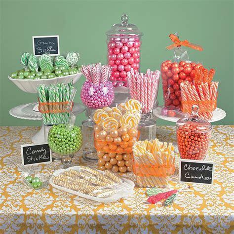 spring pastel candy buffet candy buffet ideas
