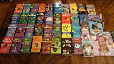 discworld novel 26 books 100k signed books by pratchett gaiman and more