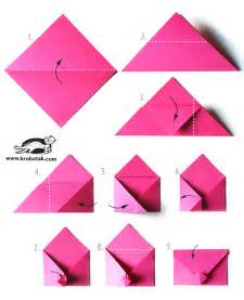 How Do You Make A Paper Envelope - krokotak envelope origami