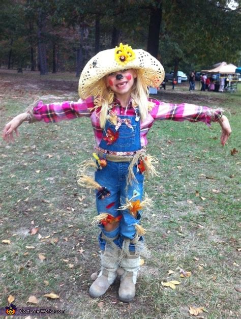 scarecrow homemade halloween costume photo