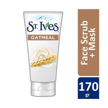 St Ives Scrub Di Guardian jual st ives nourished smooth oatmeal scrub mask