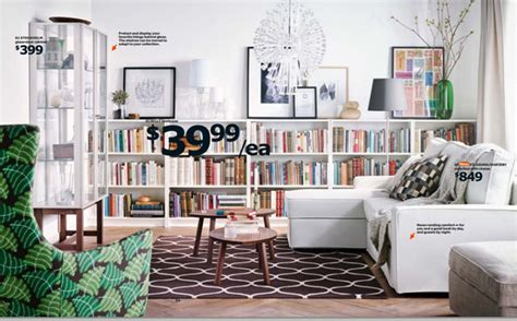 ikea home library 2015