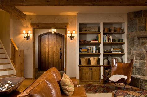 rustic basement ideas 2011 showcase hillside retreat rustic basement