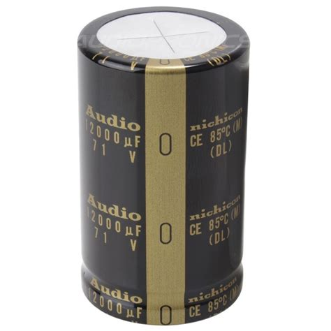 nichicon rs capacitor nichicon audio capacitor high performance 71v 12000 181 f audiophonics
