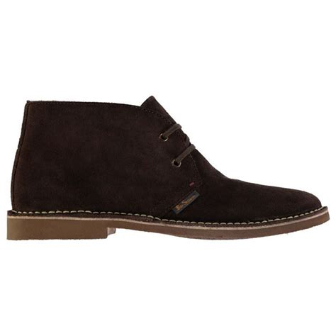 ben sherman mens hunt desert boots lace up smart suede