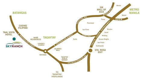 Sky Ranch C Locations Directions Contact Details | sky ranch tagaytay entrance fee attractions map