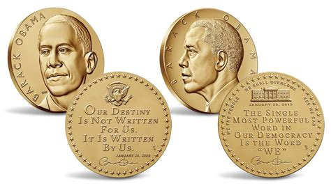obama presidential caign president obama receives medals replicas available for