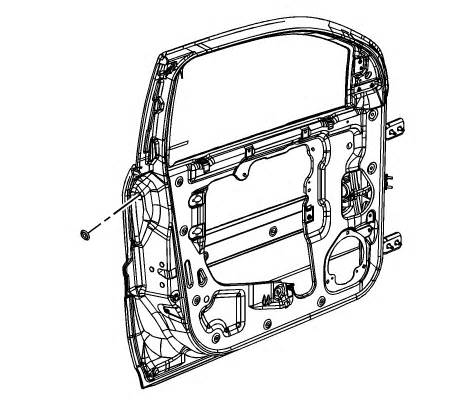 service manual [1995 geo tracker rear door interior repair