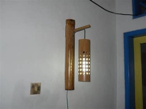 Lu Hias Dari Bambu cara pembuatan lu dinding gantung dari bambu