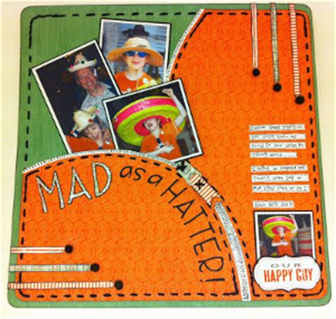 A Scrapbook Layout Of You The Mad Cropper by Lovely Xoxo Scrapbook Layout Allfreepapercrafts
