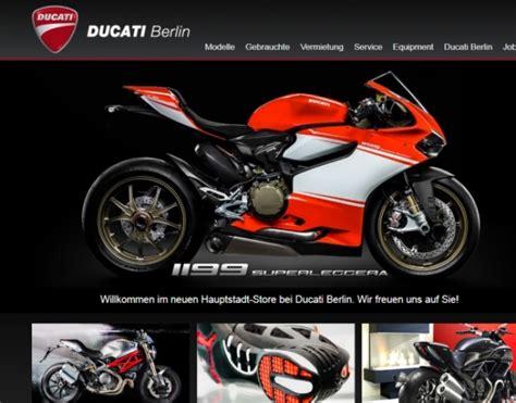 Ducati Motorr Der Berlin by Ducati Berlin In Berlin Reinickendorf Motorradh 228 Ndler