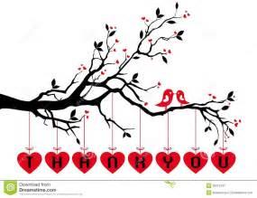 vector  heart tree  letter  cartoon vector