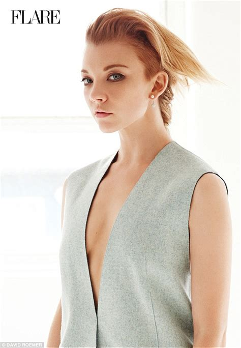 natalie dormer and tv shows natalie dormer shows flare for cut fashions promoting