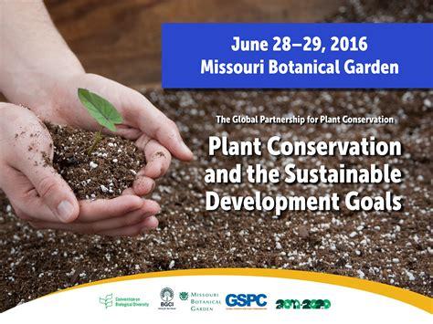Missouri Botanical Garden Classes 2016 Conference