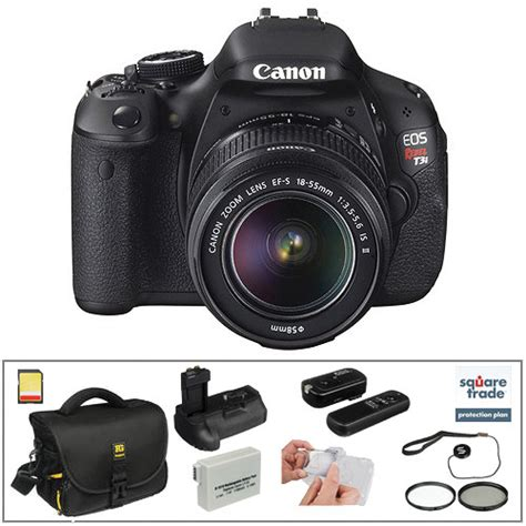 canon t3i dslr canon canon eos rebel t3i dslr with 18 55mm f 3 5 5