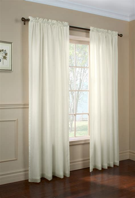 Sheer Window Curtains Rhapsody Sheer Voile Curtain Panels