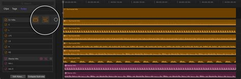 audio format timeline create a multi channel mxf file with final cut pro x