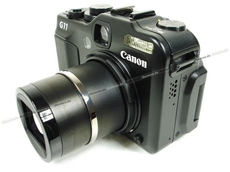Kamera Canon G11 die kamera testbericht zur canon powershot g11