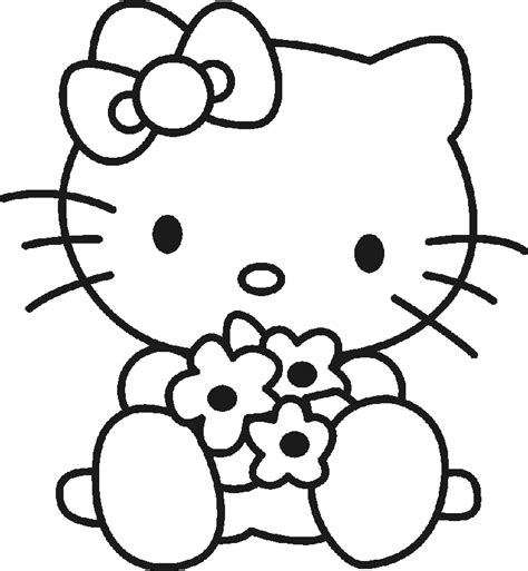 imagenes de hello kitty animadas hello kitty free printables hello kitty para colorear