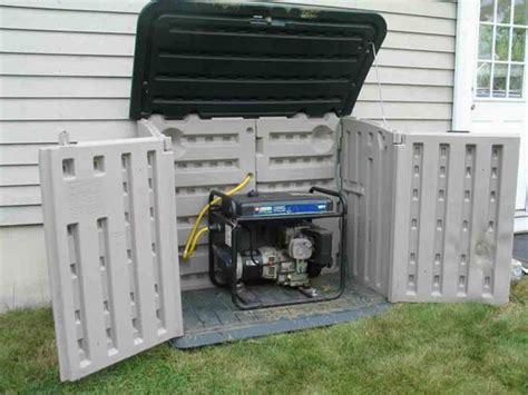 Shed For Portable Generator small sheds for generators generator enclosure http