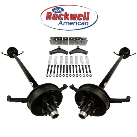tandem axle boat trailer parts tandem axle spring hanger kit fits 1 75 quot double eye