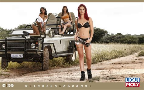 girls calendar  liqui moly usa