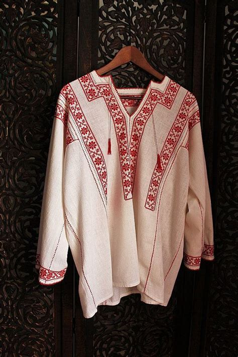 Vira White Blouse by Antique Cross Stitch Embroidered Blouse In