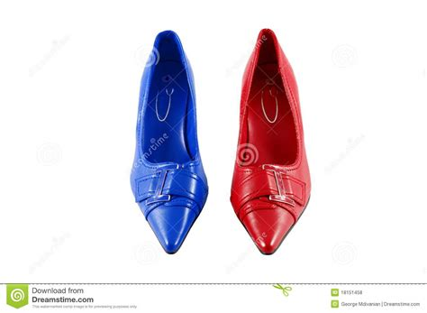colorful womens shoes royalty free stock photos image