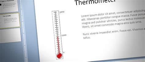 How To Make A Fundraising Thermometer For Powerpoint Fundraising Ppt Templates