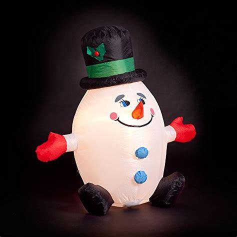 4 ft snowman christmas tree 4ft quot humpty dumpty quot snowman